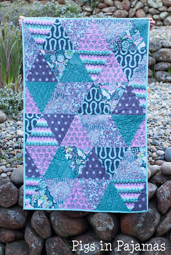 Tula Pink Triangles quiltilts2-1 | by pigsinpajamas