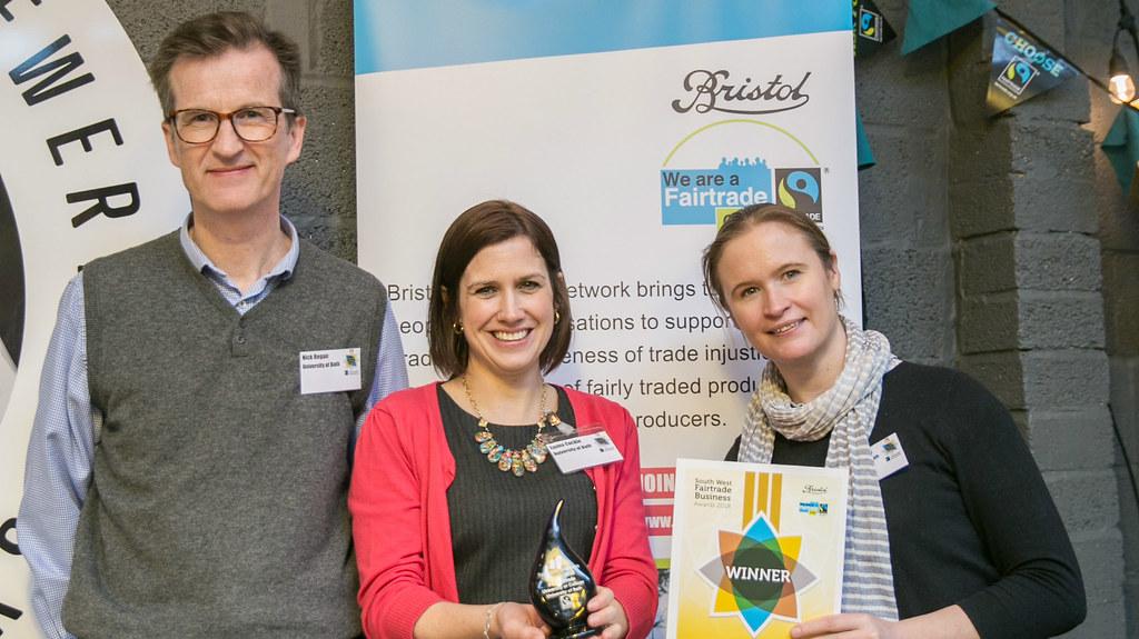 Gold award for Best Fairtrade University
