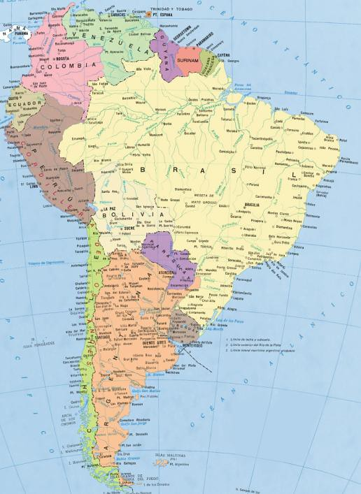 mapa-suramerica | Igor Sobayev | Flickr