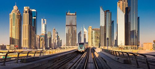 _MG_3462 - Metro in Dubai City | by AlexDROP