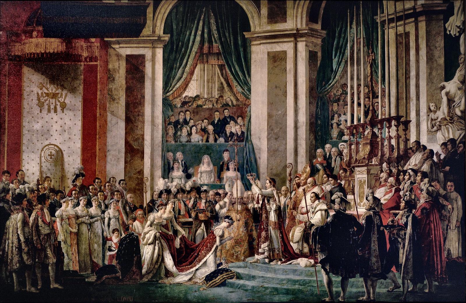 Коронация Наполеона. Жак Луи Давид