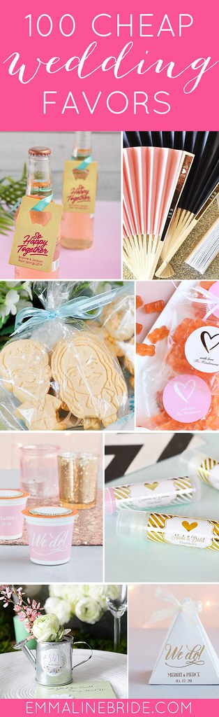 cheap wedding favors round-up
