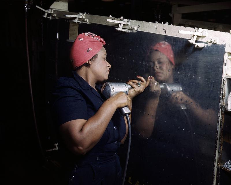 Rosie the Riveter 40's