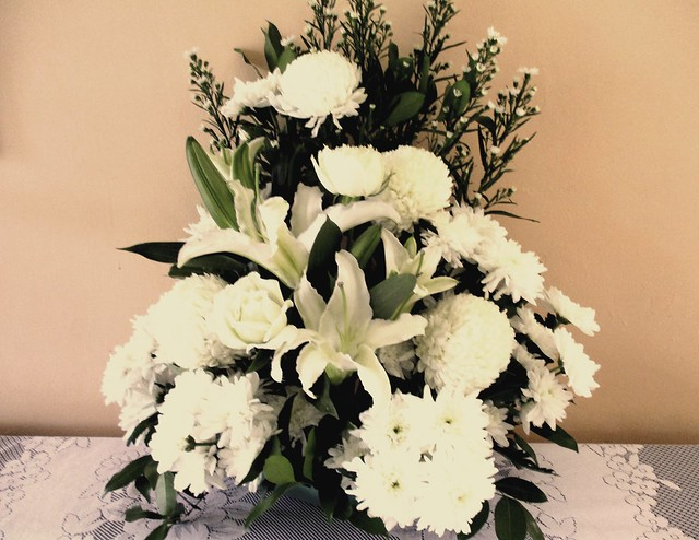 Flowers from Melissa to grandma