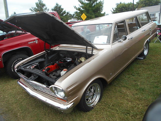Chevy II Wagon Th Annual Ridgely Car Show Ridgely Flickr - Ridgely car show