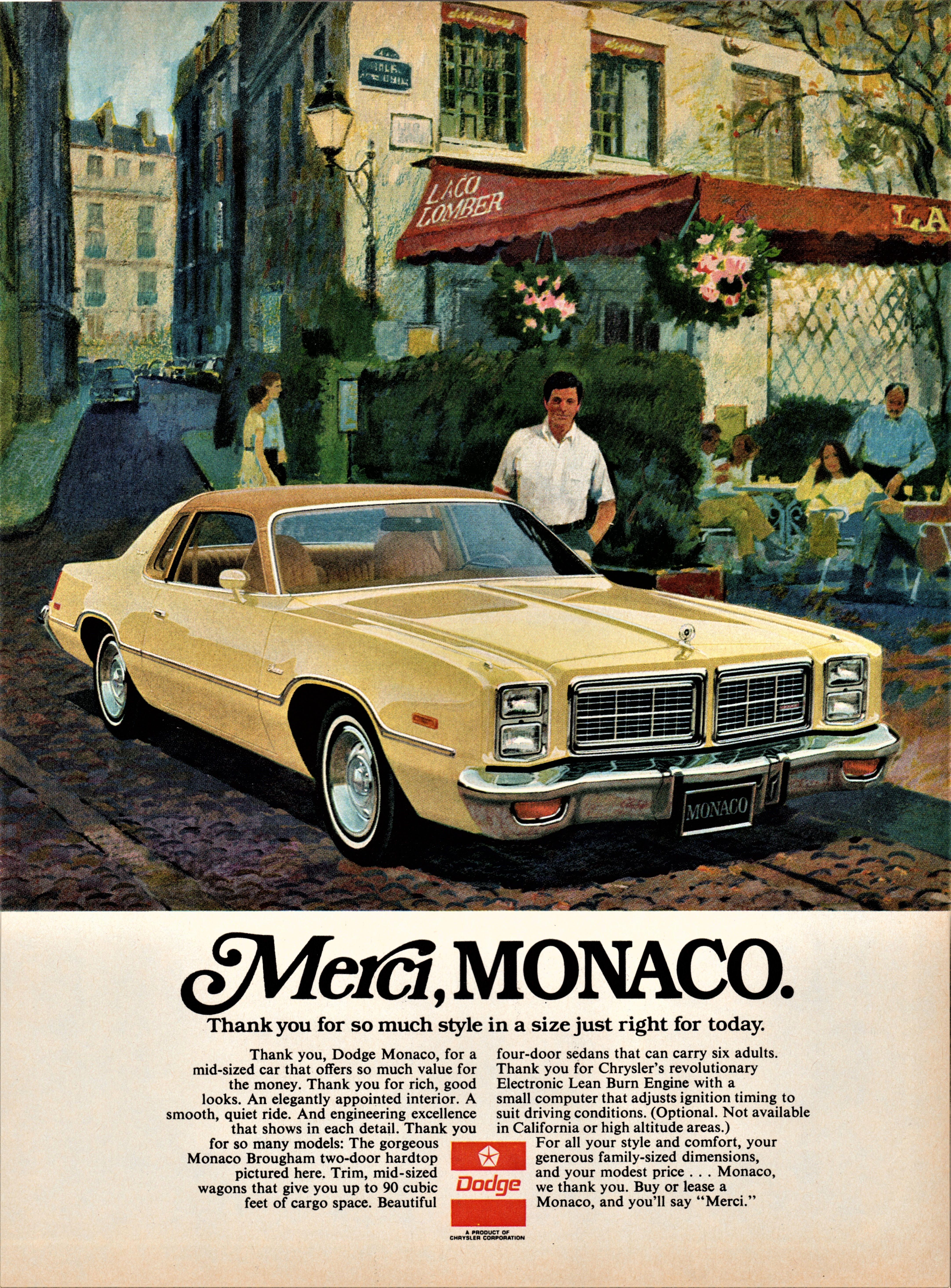 1977 Dodge Monaco Brougham Two-Door Hardtop