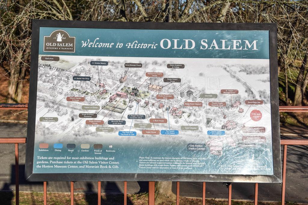 Old Salem Nc Map.Old Salem Winston Salem North Carolina This Is Photos Fro Flickr