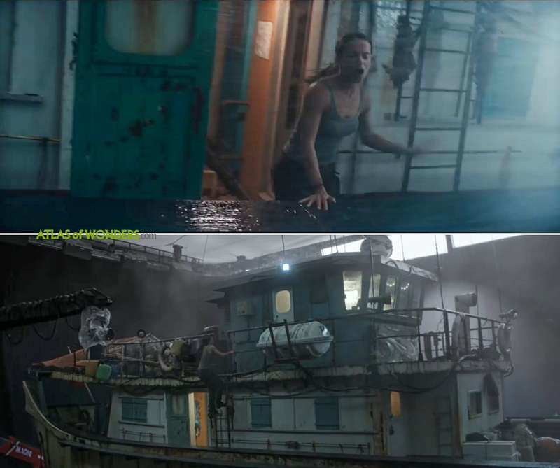 Tomb Raider drehorte