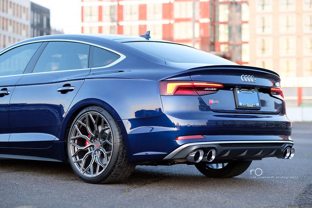 2018 Audi S5 Sportback Prestige Navarra Blue Over Rotor