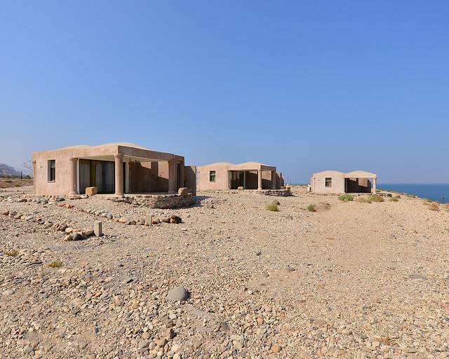 Nuestro alojamiento en el Mar Muerto