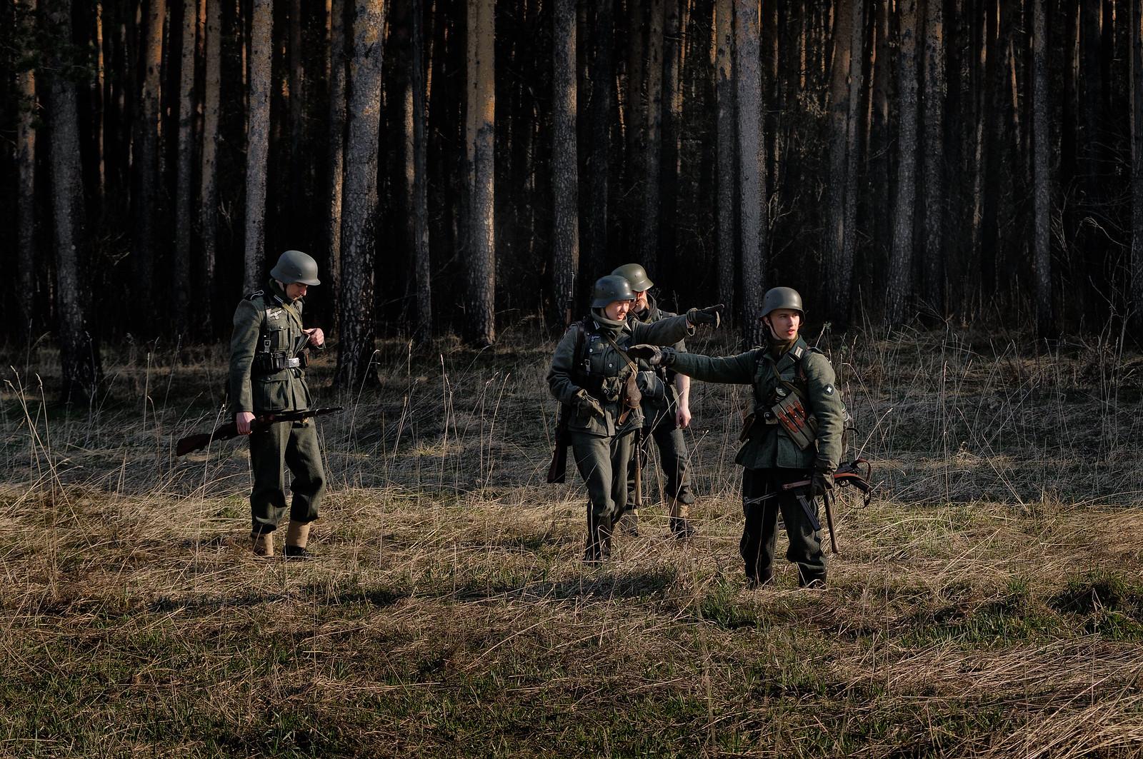 военная форма германия вторая мировая война реконструкция - фотограф Челябинск