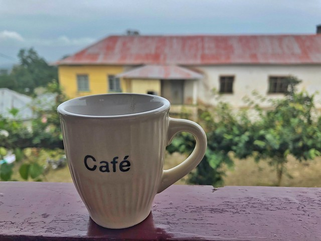 Café en Santo Tomé y Príncipe