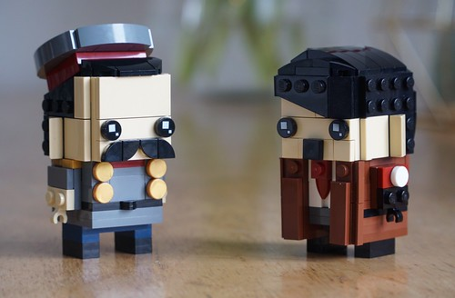 Stalin & Hitler Brickheadz | by O Wingård