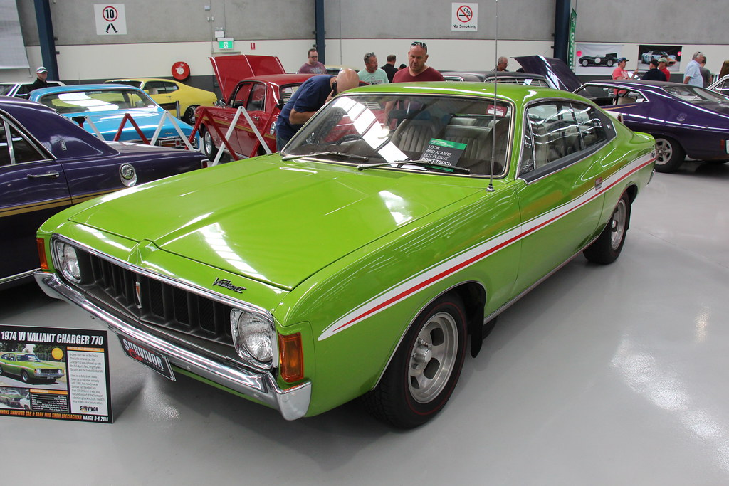 1974 Chrysler Valiant Vj Charger 770 Green Go The Vj