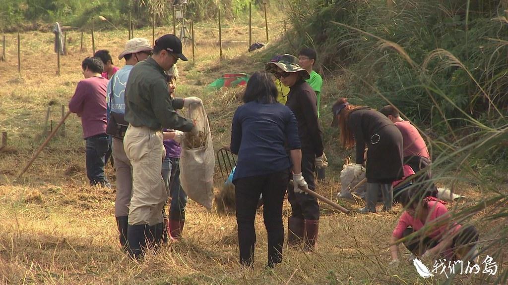 945-1-5荒野保護協會新竹分會招攬志工,用人工除草的方式,希望減少食蟲植物的競爭壓力。