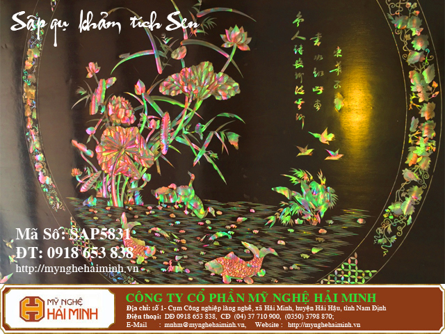 SAP5831d Sap gu Kham Lien Chi Tich Sen do go mynghehaiminh