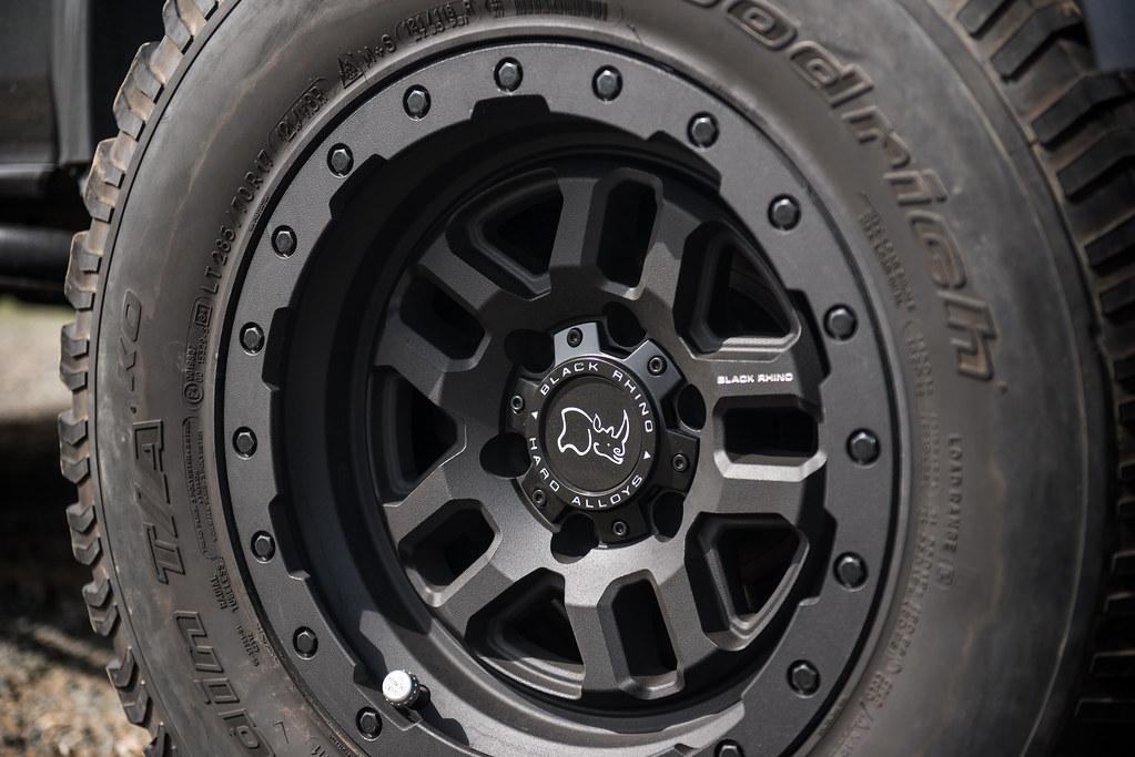 Jeep Wrangler Rhino >> Lexus GX460 on Black Rhino Barstow wheels - 4 | TSW ALLOY ...