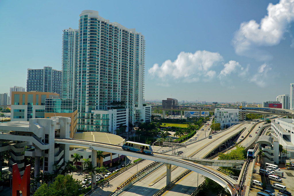 From The Terrace Of The Miami Tower Aglez The City Guy Flickr