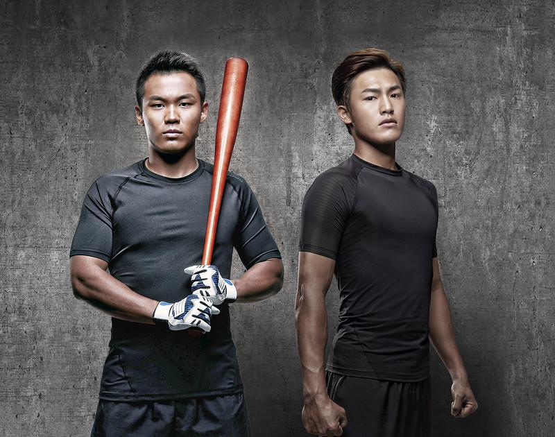 adidas正式宣布,王柏融、李宗賢正式加入adidas陣容。(adidas提供)