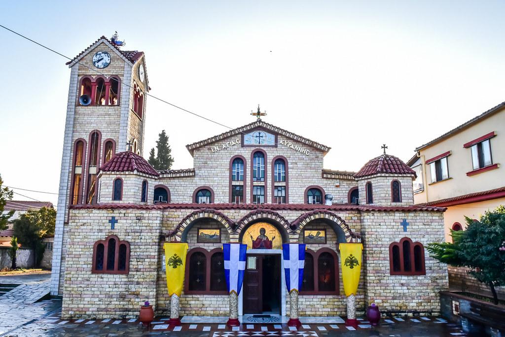 Αποτέλεσμα εικόνας για Ιερός Ενοριακός Ναός Αγίας Κυράννης Όσσης Λαγκαδά