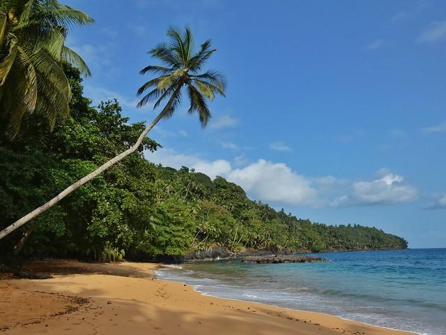 Praia Grande en Príncipe (Santo Tomé y Príncipe)