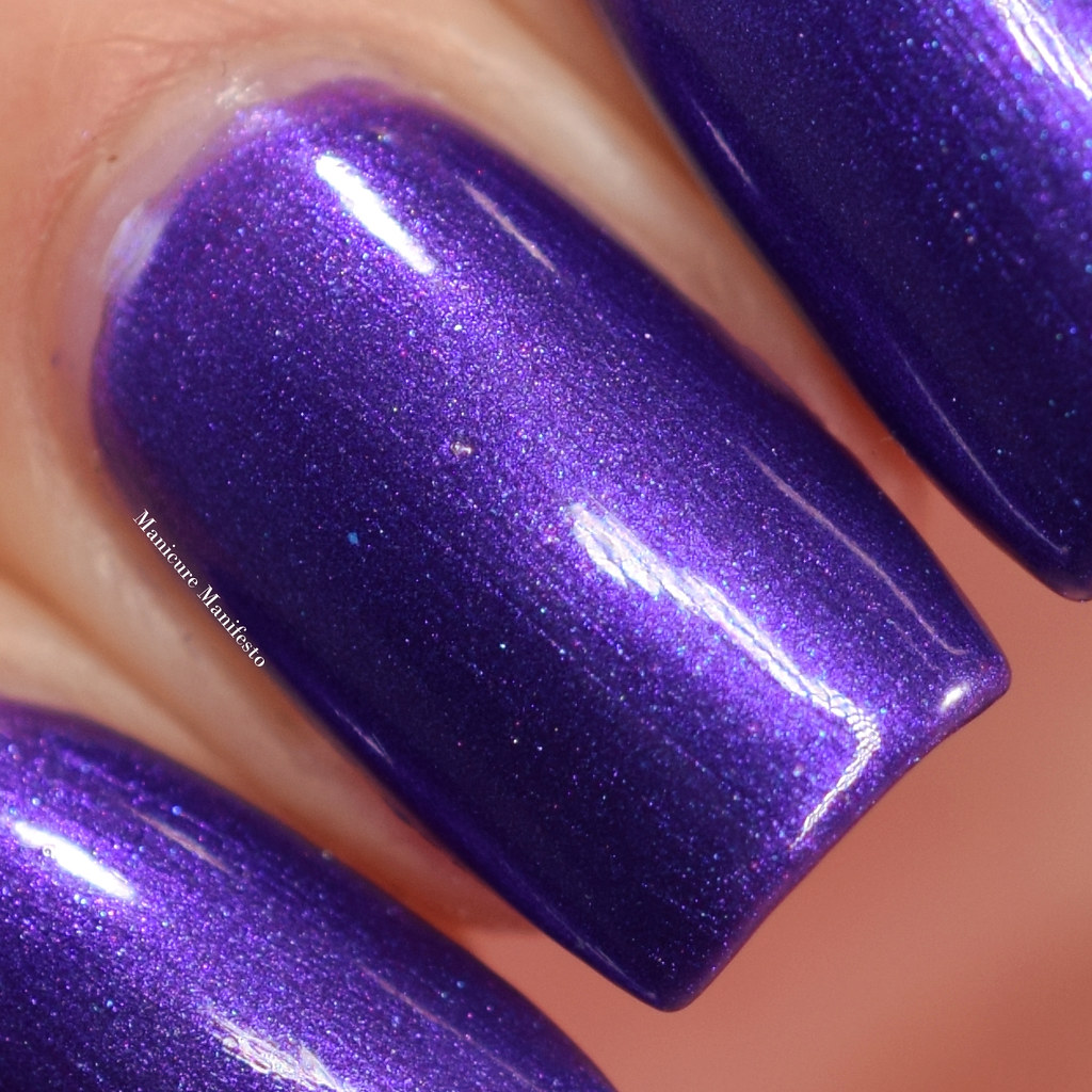 CANVAS Lacquer Violet Uprising swatch