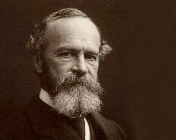 William James en 1903. Houghton Library, Harvard University.