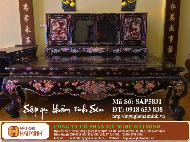 SAP5831a Sap gu Kham Lien Chi Tich Sen do go mynghehaiminh