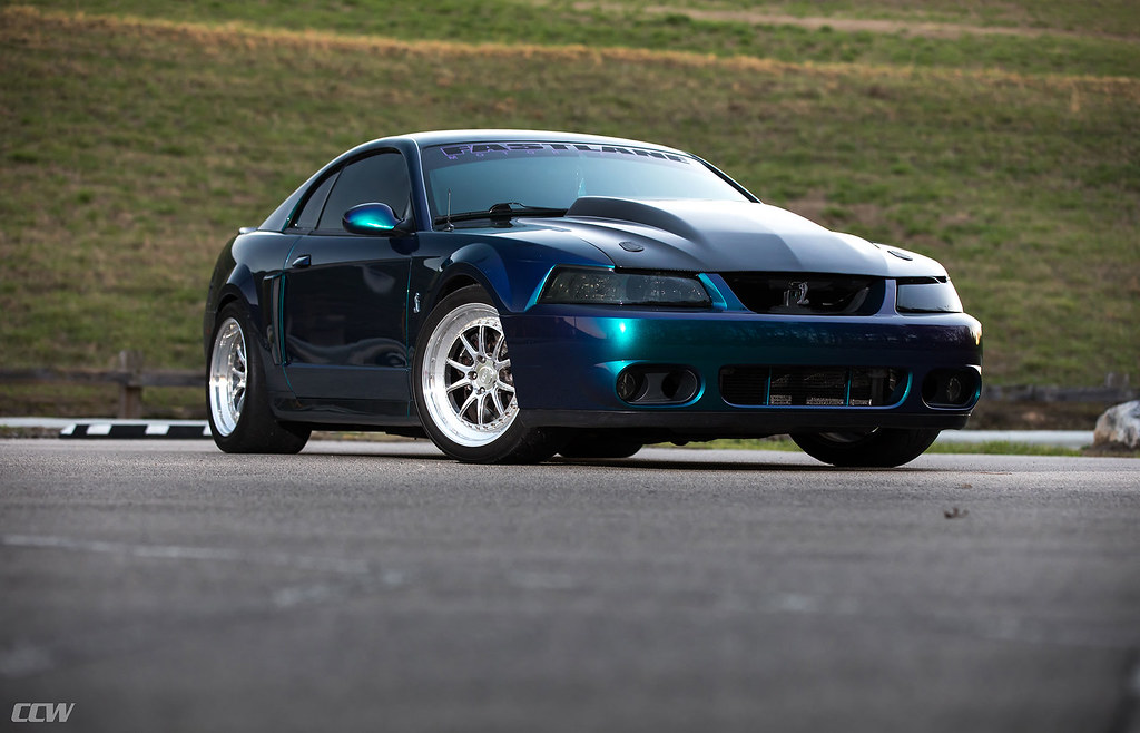 Mystic Chrome 2003 Ford Mustang Shelby Cobra