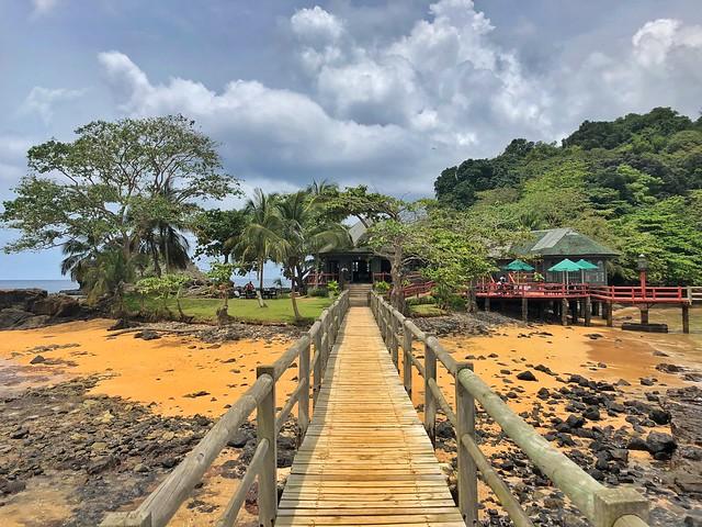Isla Bom Bom en Príncipe (Santo Tomé y Príncipe)