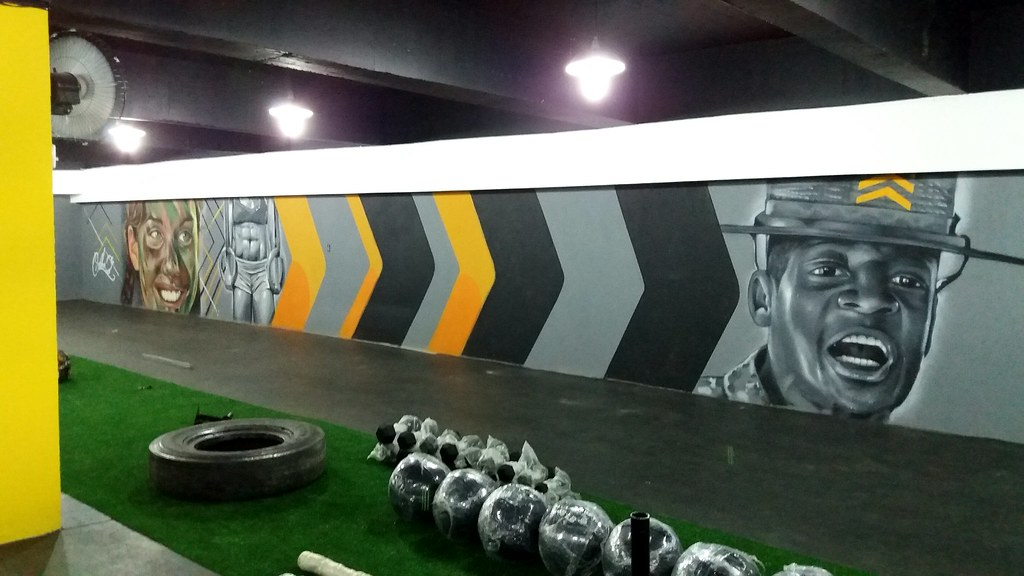 Military Crossfit Academia Militar GRAFFITI John Viana Johnzinho Crosfit