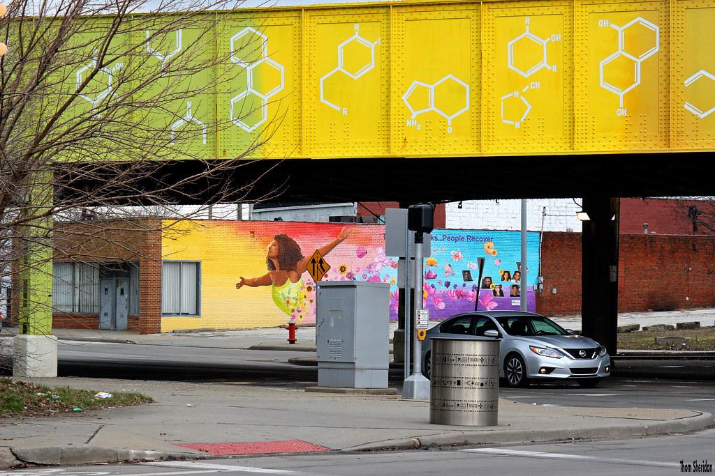 Soaring Under the DNA Bridge | Cleveland, 2018 | Thom Sheridan | Flickr