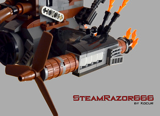 SteamRazor666 08 Wing Engine | by kocurvelox