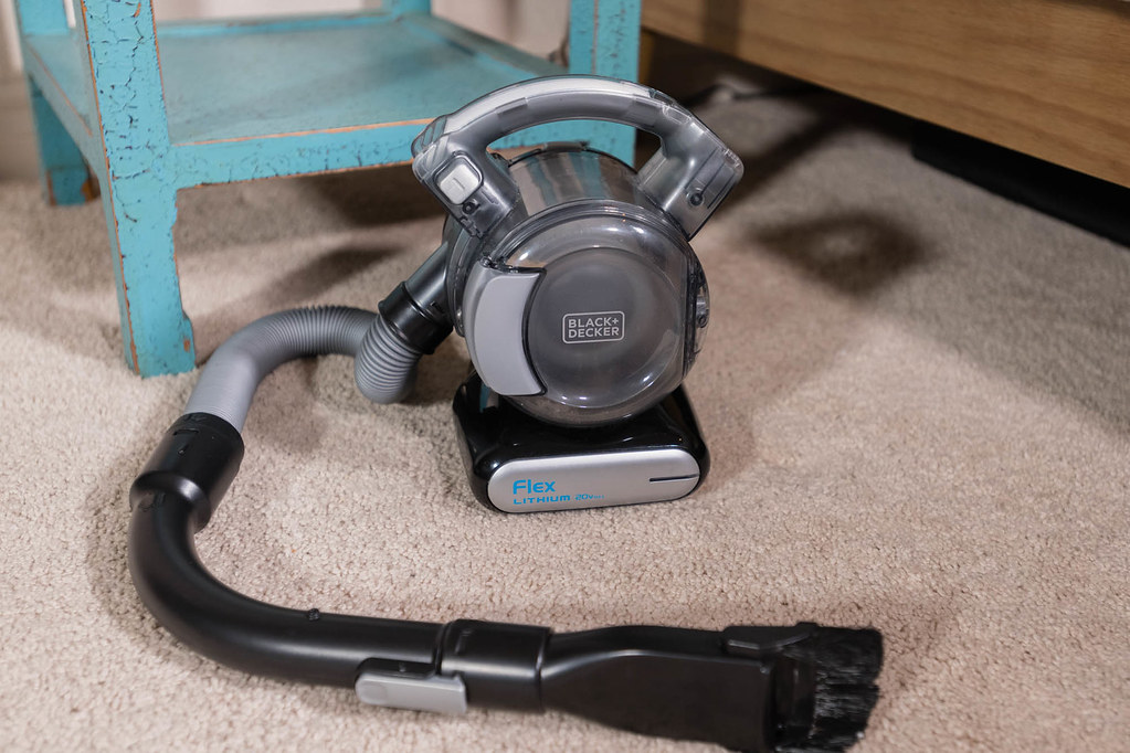 Handheld Vacuum With Extendable Arm And Lithium Battery Bl Flickr