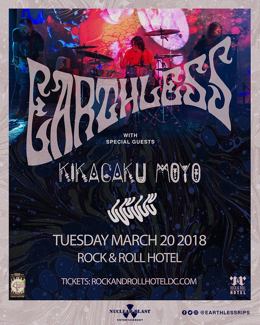 Earthless at Rock & Roll Hotel