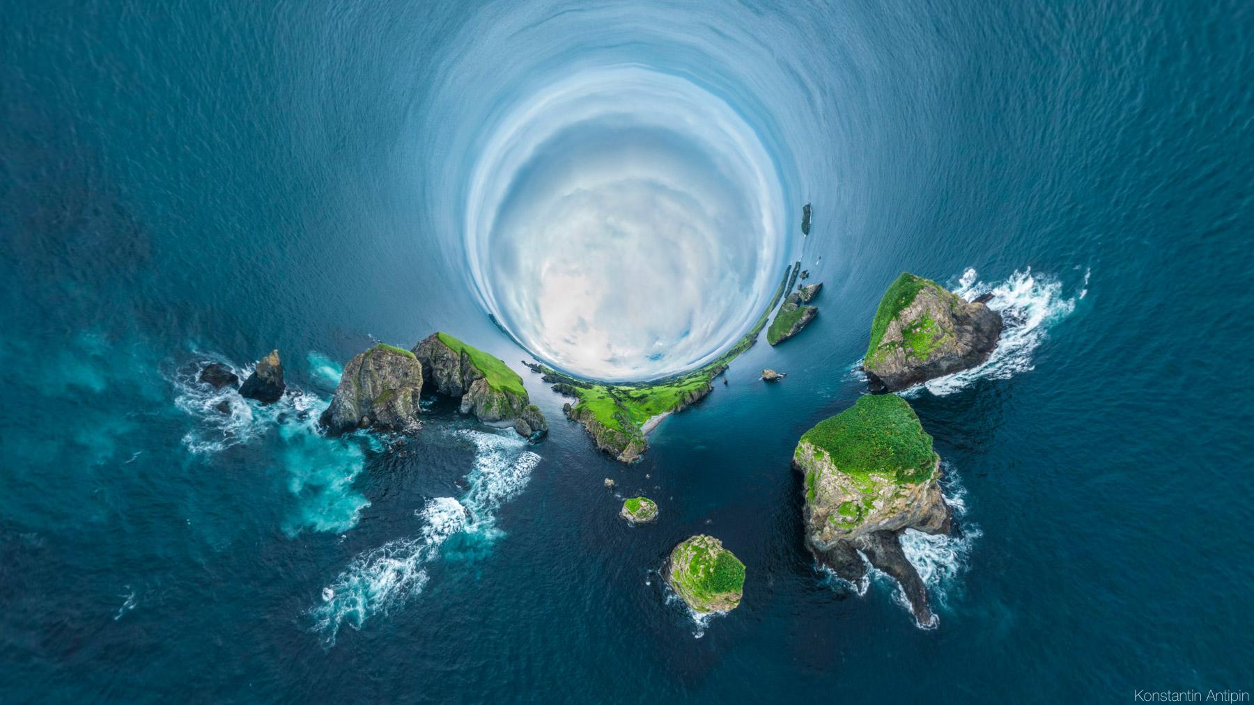 Сферические панорамы Шикотана