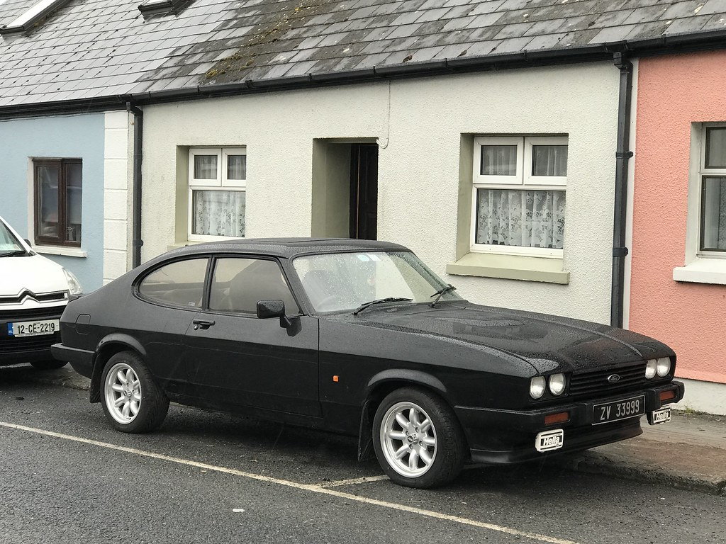 Classic Cars - Ford Capri - Milltown Malbay, County Clare … | Flickr
