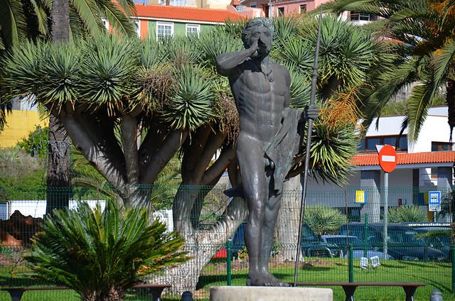 Tinguaro, Guanche freedom fighter who defeated the Spanish, La Matanza, Tenerife
