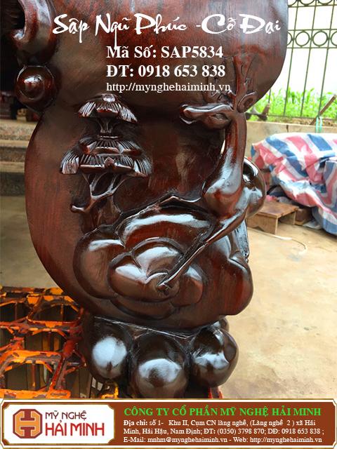 SAP5834g Sap gu Ngu Phuc co Dai do go my nghe hai minh