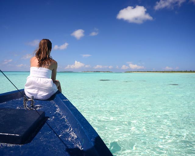 En barco por las mejores playas de Maldivas