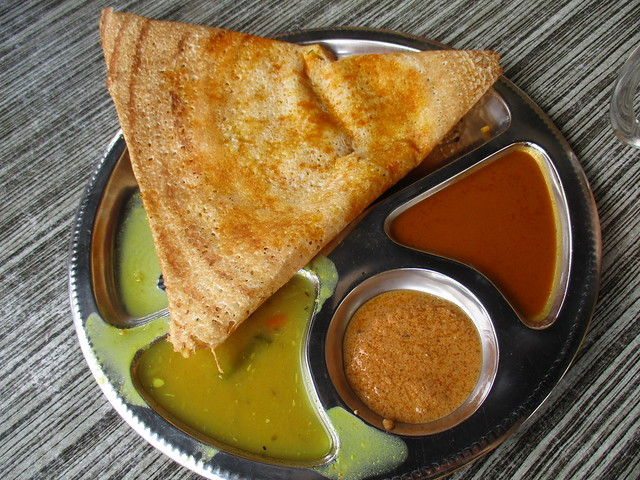 Curry House thosai masala 1