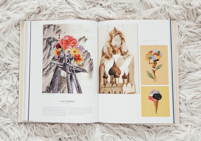 Collages by Laura Redburn - Mix & Match book