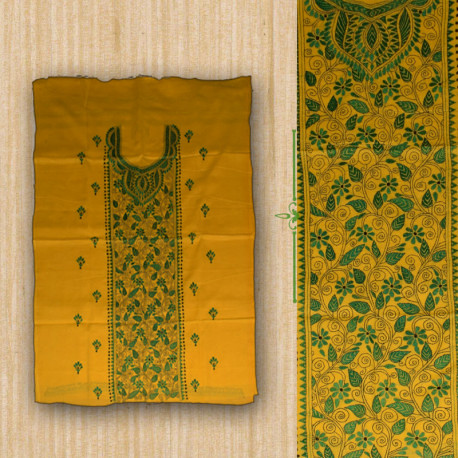 54001a97e3 ... indiansareesandcrafts Shop Kurtis of Bengal Collection in Yellow Color  Exclusively from Kiukart | by indiansareesandcrafts