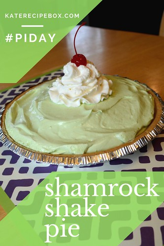 Shamrock Shake Pie | by katesrecipebox