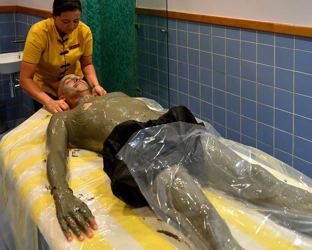 Tratamiento con barro en el Mar Muerto