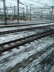 2018年3月21日の雪