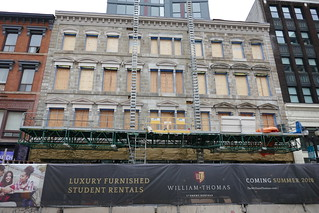 Facade restoration William Thomas Residences | by .JCM.