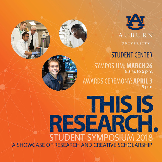This is Research: Student Symposium 2018 – details in story below
