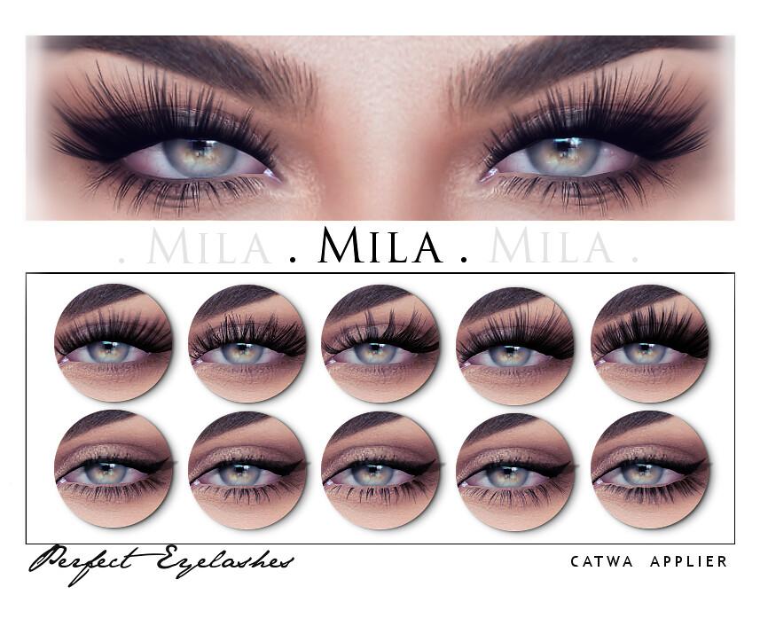 Mila Perfect Eyelashes Catwa Mapscondlifesec Flickr