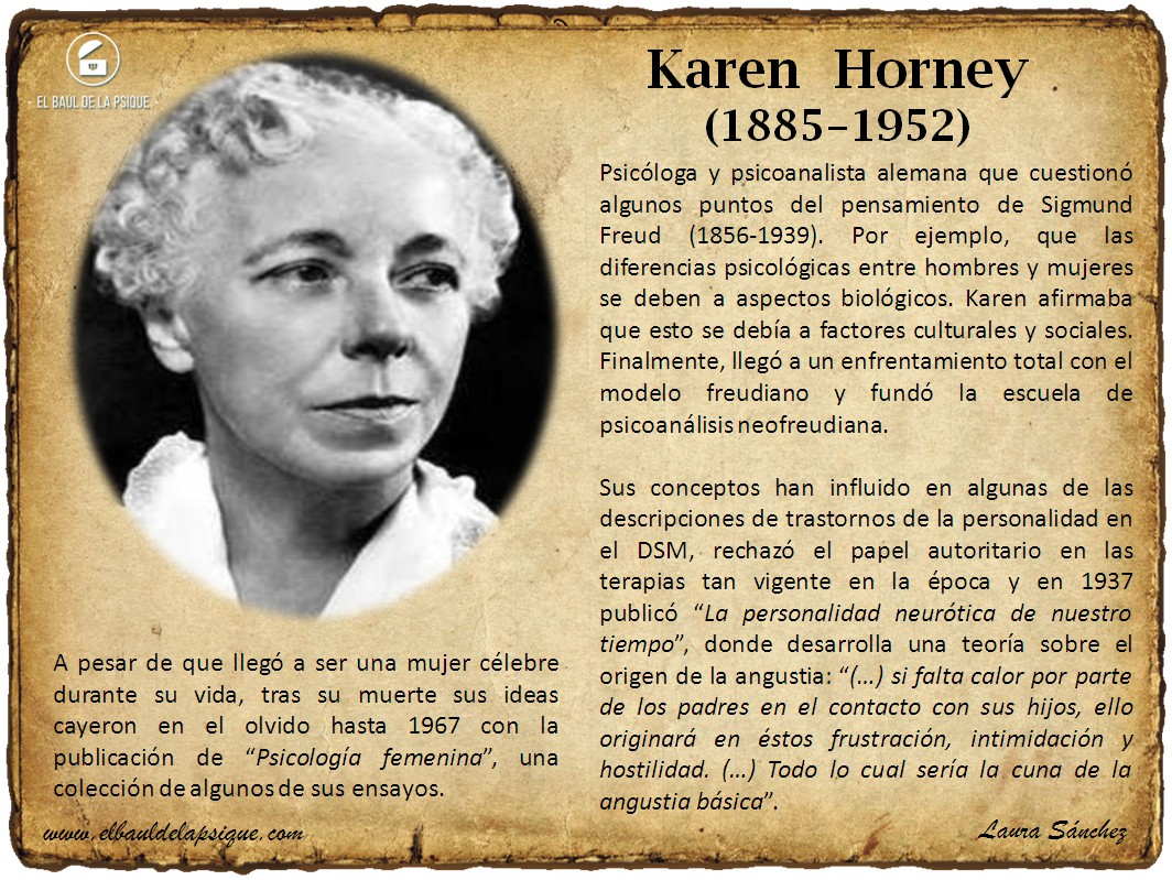 El Baúl de los Autores: Karen Horney
